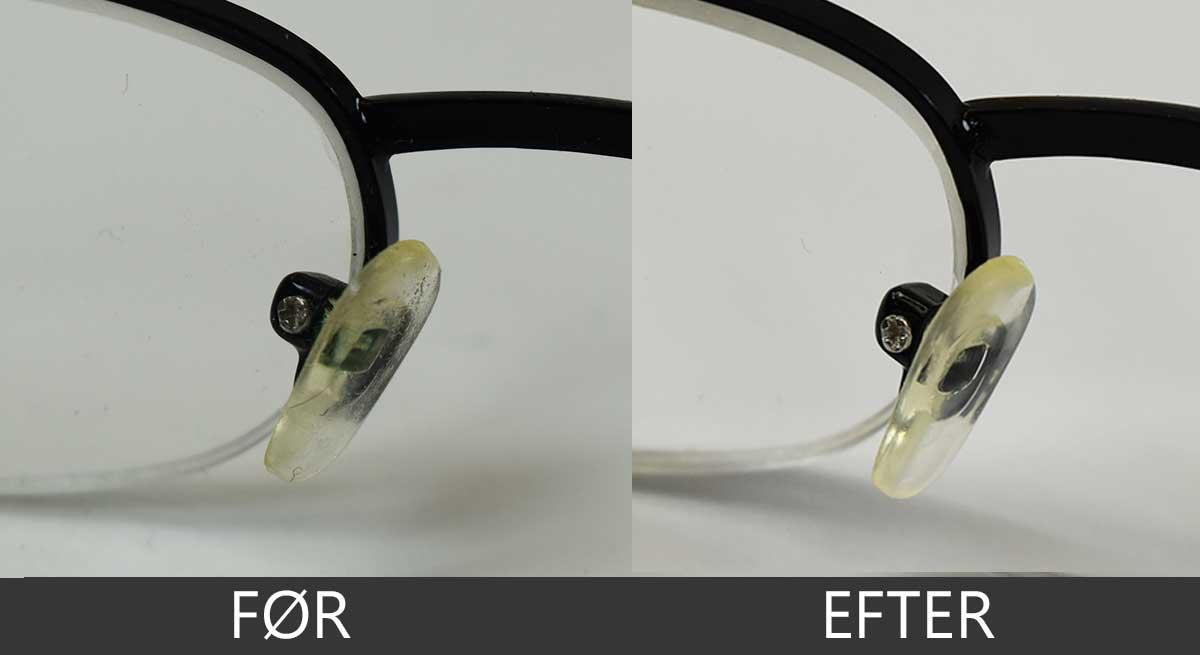 Ultralydsrensning af briller